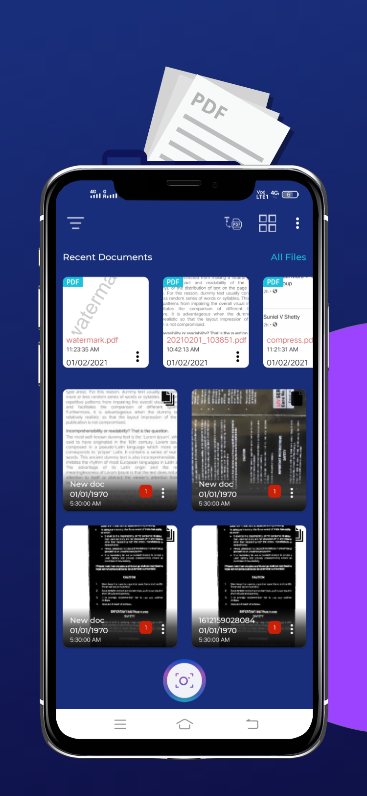 best photo to pdf maker android app for free by RealTechnoLab, PDF creator app for free, online document scanner app for free, document scanner app play store, Best PDF Maker Tool DSC - Document Scanner.